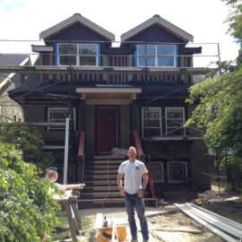 Project 1 – 2014 14th & McDonald Renovation – a very typical Wismer & Mathieson Project…..